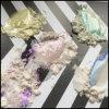 ユニコーンの魔法のオーロラのクロムミラーの粉の虹のマニキュアの釘の芸術の顔料