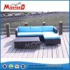 Baratos modernos muebles de ratán Cojín de sofá seccional azul