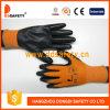 Ddsafety 2017 enrobés de nitrile en nylon blanc gant de travail de la sécurité
