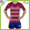 Festes Sitz-Staatsangehörig-Polyester-unbelegtes Sublimation-Rugby 100% Jersey