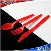 Couteau à couverts en plastique rouge moyen PS PS