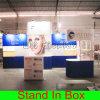 Établir et installer le stand modulaire réutilisable souple portatif
