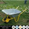 Цинк Wb6423 покрыл гальванизированную вагонетку тележки инструмента сада тачки подноса
