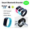 Braccialetto astuto impermeabile IP67 di nuovo disegno con Bluetooth 4.0 (E01)
