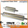 lumen de aluminio R7s LED 118m m de 100-240V 90SMD 2835 LED 360degree 9W alto