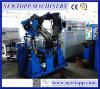 Equipo de fabricación de extrudado del cable coaxial de la comprobación que hace espuma