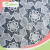 Ткань Organza Eco содружественной белой плиссированная вышивкой