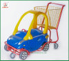 Supermarkt Center Kids Sit in Shopping Trolley (JT-E19)