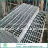 Escalera Grating de acero galvanizada de la INMERSIÓN caliente