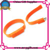 Silicone Writband USB Flash Drive 3.0 para presentes