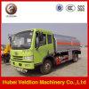 FAW De Olie van het Koolstofstaal 17000liter/de Vrachtwagen van de Tanker van de Brandstof