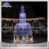 Luzes de Natal comerciais européias da fonte do estilo IP68