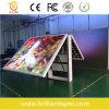 Al aire libre LED del panel frontal Mantenimiento del lado del doble a todo color (P10))
