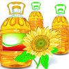 Petróleo de sementes comestível refinado venda por atacado do girassol
