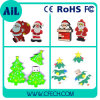 Free Sample Christmas Theme PVC USB Flash Drive