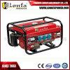 3-phasiger manueller Benzin-Generator des Anfangs5kva/5kw mit Unterbrecher Protecter
