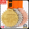 2017 neueste kundenspezifische glänzende Ende-olympisches Goldmedaillen für Triathlon