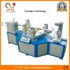 Tubo confiable del papel del espiral de la calidad que hace la máquina con el cortador de la base
