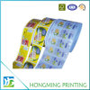 Etiqueta engomada brillante hecha en fábrica de la impresión del papel de la laminación