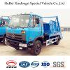 8.5ton Dongfeng 유압 선적 유로 4 그네 팔 드는 유형 쓰레기 트럭