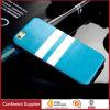 Tampa traseira de Unbreak da tampa britânica da caixa do telefone do silicone do couro do estilo para o iPhone 5/5s 6/6s