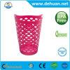 Heißer Verkauf farbige Plastikwäscherei-Korb-Tuch-Körbe für Haus u. Hotel