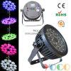 Новая конструкция IP65 18X15W RGBWA+УФ 6в1 LED PAR лампа водонепроницаемый