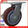 5 Zoll - hoher Eingabe-Polyurethan-Hochleistungsfußrolle