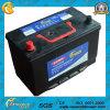 12V75ah JIS Rechargeable Four Wheelers Mf Automotive Lead Acid Batteries