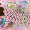 Pailles de papier potables rouges de POINT de polka BRITANNIQUES