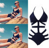 (Soem-Ordnungen annehmen), High Waist Womens Bandage Swimsuit Bikini Swimwear Sexy Monokini Bathing Suit