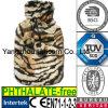 Bottiglia di acqua calda del leopardo del CE del Faux della peluche del coperchio animale della pelliccia
