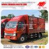 Cargo abultado Fence Van Truck con la puerta movible