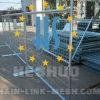 Clôture provisoire de construction galvanisée par qualité