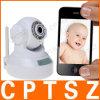 Beste verkaufende drahtlose netz IP-Kamera P2p-Mjpeg Infrarotmit dem Qr Code, der bewegliche Betrachtung, lange Strecken-Baby-Monitor stützt
