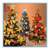 La grande crittografia di lusso all'ingrosso impacca 2.1 l'albero di Natale verde del tester 210cm con le varie decorazioni e gli indicatori luminosi del LED