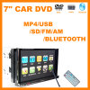 Car 2 reproductor de DVD DIN + Bluetooth / DVD / VCD / SVCD / WMA / MP4 / JPEG pantalla digital (YT-9288)