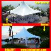 屋外の結婚式6X12mのための屋外の十字ケーブルの小尖塔のテント12 12X6 12m x 6mによって6m x 12m 6 80人のSeaterのゲスト