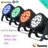 Mercado da China 2015 Poplar RGBW PAR LED luzes de Latas