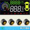 3.8 pollici Car Hud OBD II con Tire Pressure Gauge