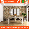 OfficeまたはShop/Home Decorationのための石造りのTexture Wallpaper
