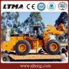 Movimentação da roda de Ltma 4 carregador da roda do Forklift de 18 toneladas