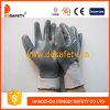Серый нейлон серый нитриловые перчатки рабочие Dnn441
