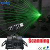 Luz principal movente do raio laser da exploração da cor verde do estágio