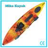 Singola canoa professionale della plastica del kajak di pesca della barca del pedale dell'oceano