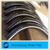 180 curva inconsútil del codo del tubo de acero de carbón del grado 5D