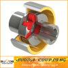 Flexibles Plum Blossom Type Elastic Coupling mit Brake Wheel