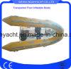 Hightの品質のVの外皮のTranspantの底が付いている膨脹可能なTouristingのボートの/Sightseeingのボート