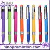 Stylo de boule promotionnel de clic de stylo de boule de Plasctic de qualité