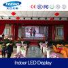 Alta pantalla de visualización publicitaria de interior de LED de la definición P3.91